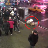 Trash Kicking/Time Square Trolling